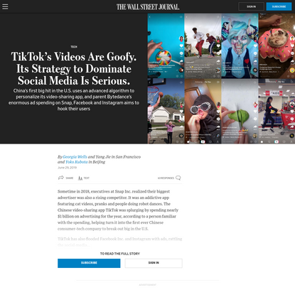 TikTok's Videos Are Goofy. Its Strategy to Dominate Social Media Is Serious.