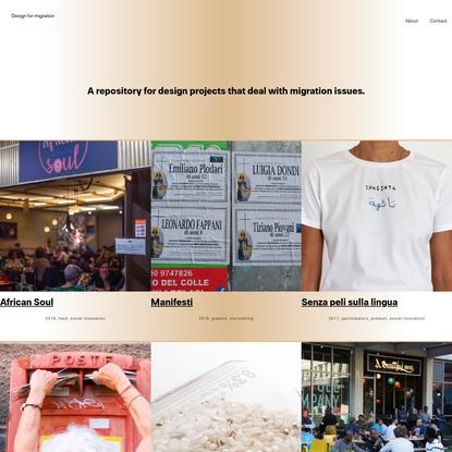 Design for Migration
