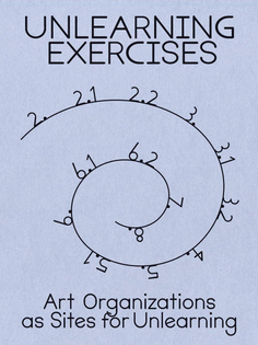 Unlearning Exercises: Art Organizations as Sites for Unlearning
