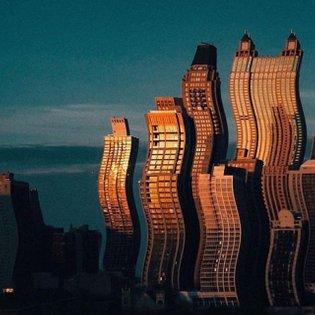 Liquid skyscraper 🏗 #ACK #ACKWORK #ACKUA