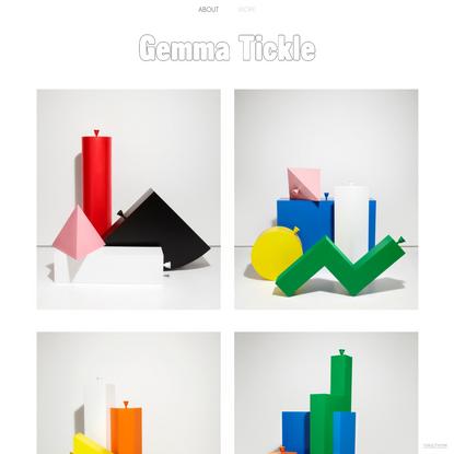 WORK - Gemma Tickle | Set Design