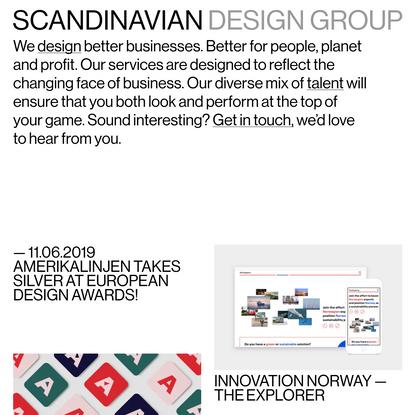 SDG   Scandinavian Design Group