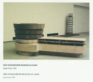 Peter Weibel – The Guggenheim Museum as a Bar (1987)