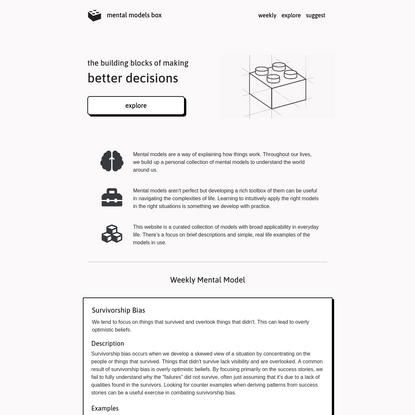 Mental Models Box