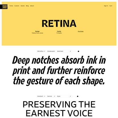Retina: radical and practical