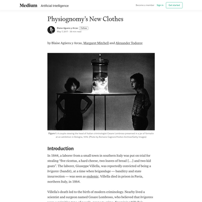 Physiognomy's New Clothes