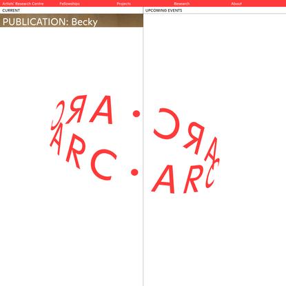 Artists' Research Centre (ARC)