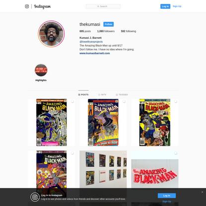 Kumasi J. Barnett (@thekumasi) * Instagram photos and videos