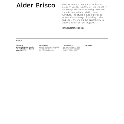 Alder Brisco