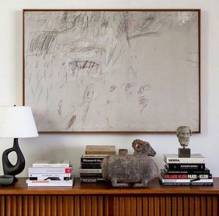 Cy Twombly #cytwombly #abstractmag