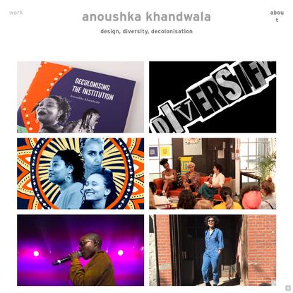 Homepage - anoushka khandwala