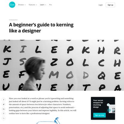 A beginner's guide to kerning like a designer - Learn