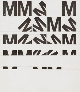 Wolfgang Weingart — Letter M