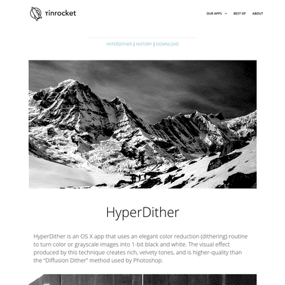 HyperDither for OS X