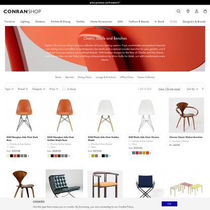 Shop Chairs, Stools and Benches at The Conran Shop - The Conran Shop