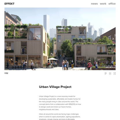 Urban Village Project