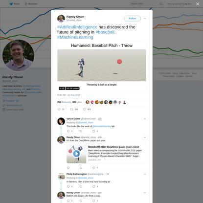 Randy Olson on Twitter