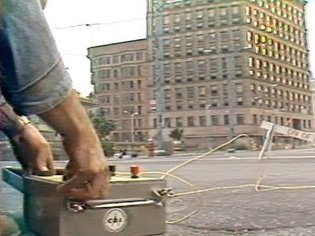 WEWS coverage of Oct. 1982 Public Square implosion