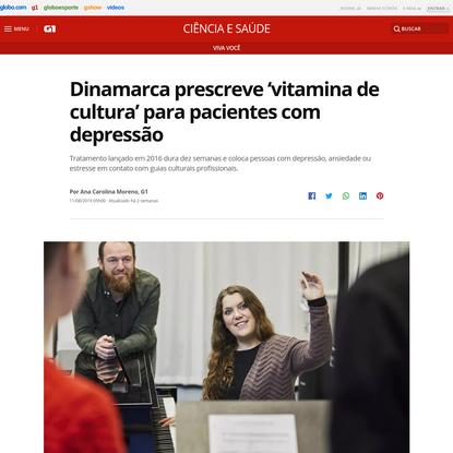 Dinamarca prescreve 'vitamina de cultura' para pacientes com depressão