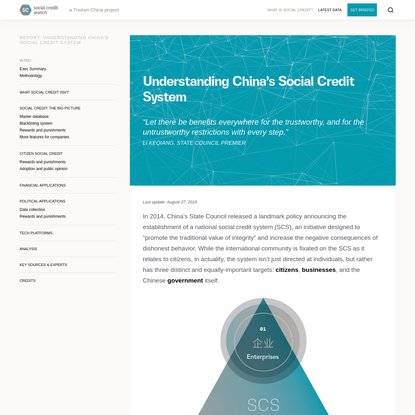 What is Social Credit? - Social Credit Watch