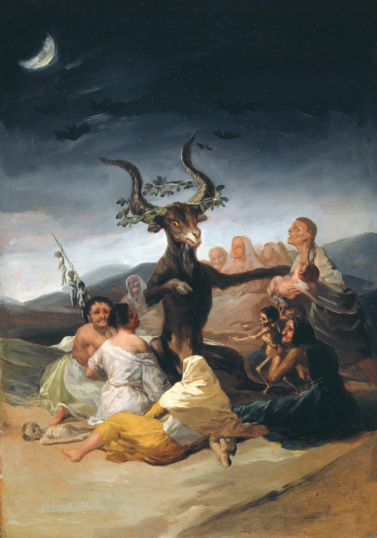 "Francisco de Goya ""Witches Sabbath"""