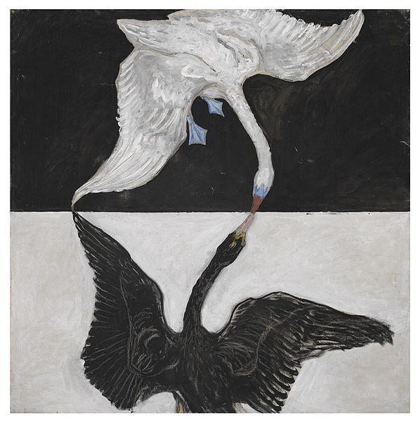 Hilma af Klint, The Swan, No. 1, Group IX/SUW, The SUW/UW Series, 1915