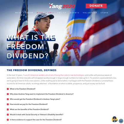 What is the Freedom Dividend? - Andrew Yang for President