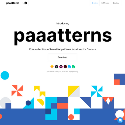 Paaatterns! for Free