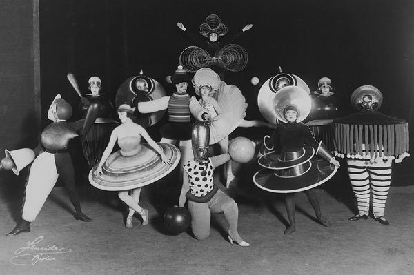 Oskar Schlemmer, The Triadic Ballet, 1927
