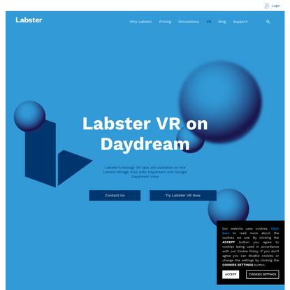 VR Virtual Lab Simulations   Labster