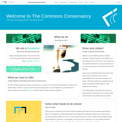 Welcome to The Commons Conservancy | The Commons Conservancy