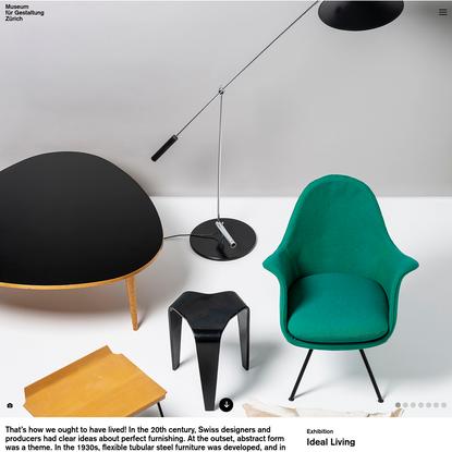 Ideal Living - Museum für Gestaltung Zürich
