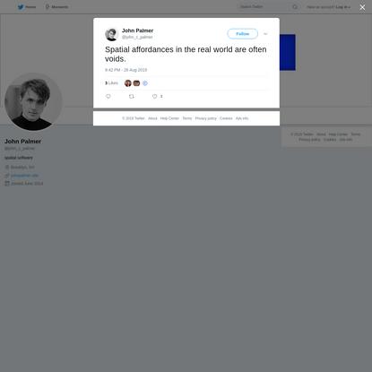 John Palmer on Twitter