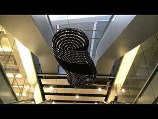 Troika - 'Cloud' - digital sculpture for British Airways