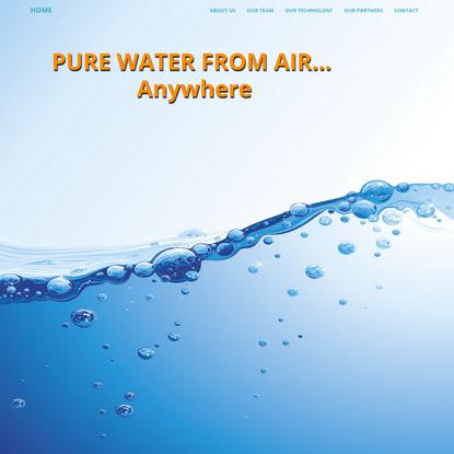 Water Harvesting Inc.