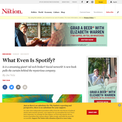 What Even Is Spotify?   The Nation