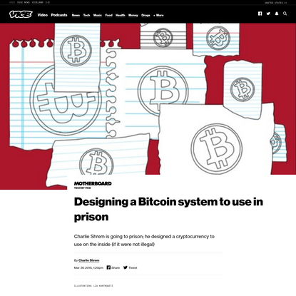 Designing a Bitcoin system to use in prison