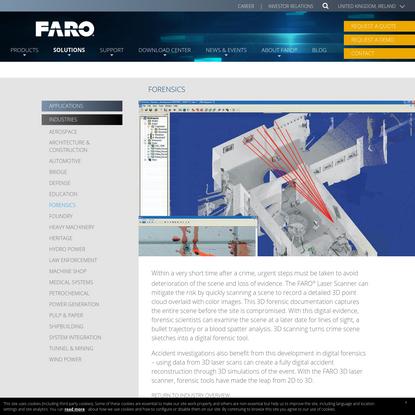 Forensics Solutions - FARO Technologies UK Ltd