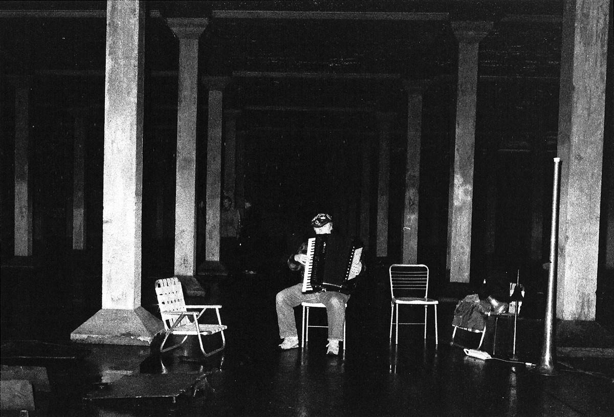 Pauline Oliveros In Cistern