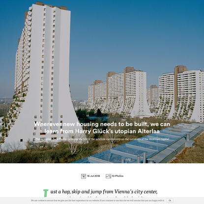 Wherever new housing needs to be built, we can learn from Harry Glück's utopian Alterlaa