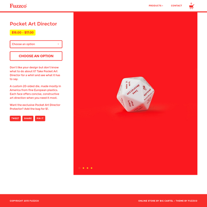 Fuzzco - Pocket Art Director
