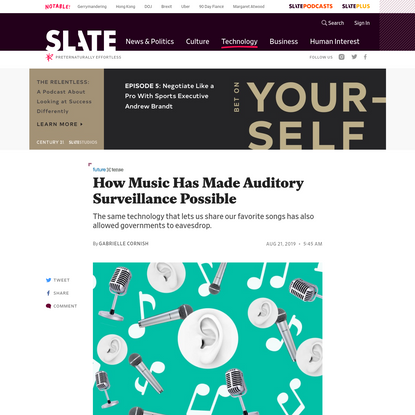 How Music Has Made Auditory Surveillance Possible