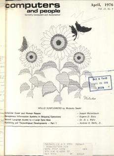 Mutsuko Sasaki, Hello Sunflowers, 1976