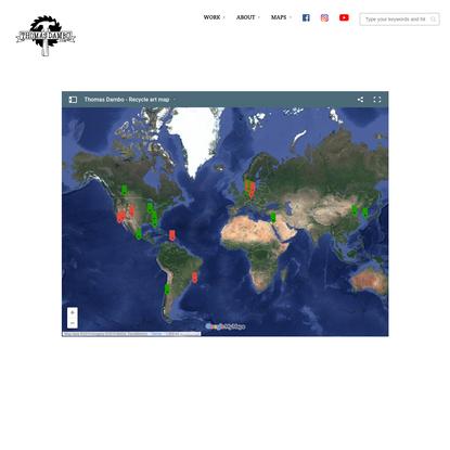 Dambo's World Map