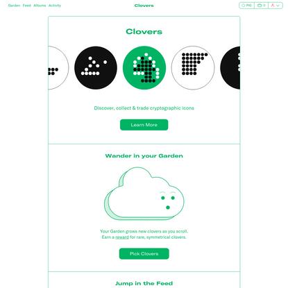 Welcome | Clovers