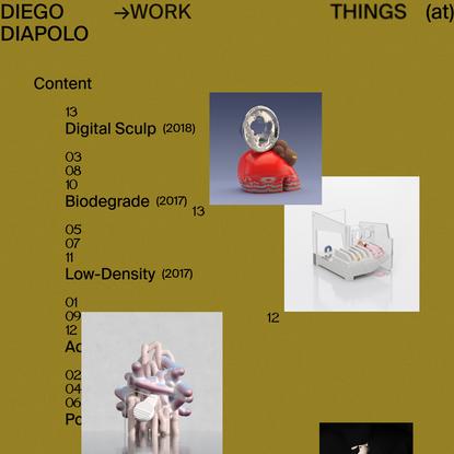 Things - Diego Diapolo