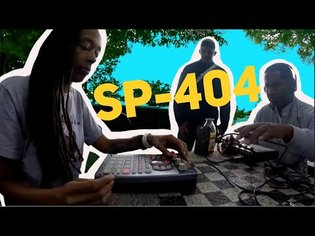 Roland SP-404sx Beat Cypher in New York City!