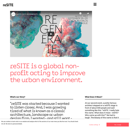 About | reSITE