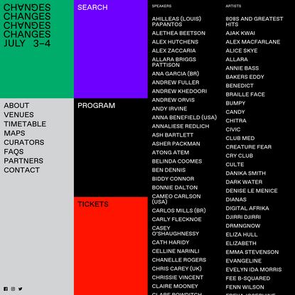 Changes Festival Melbourne