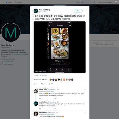 Max Rudberg on Twitter